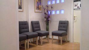 Sala d'attesa Studio Podologico Dr. Pecoraro
